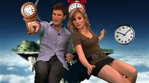Kevin & Alison Break the AOTS Space Time Continuum Video