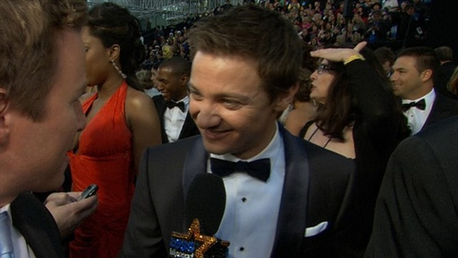 [2011 Academy Awards: Jeremy Renner Talks 'Mission: Impossible' -]