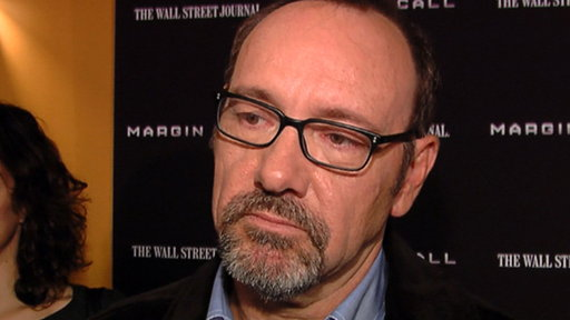 Kevin Spacey Talks 'Margin Call' Connection to Occupy Wall Stree Video