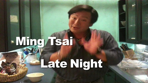 [Late Night Eats: Ming Tsai's Snack Ideas]