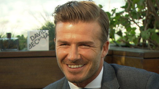 David Beckham Beams Over Baby Harper: 'She's So Ladylike' Video
