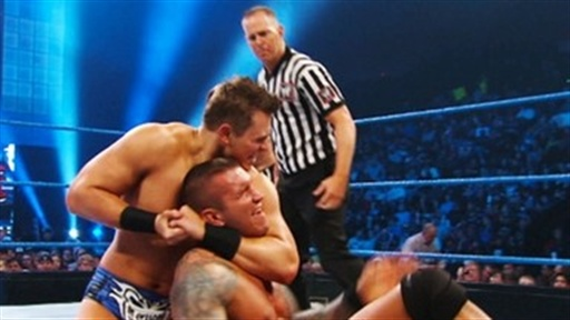 [Edge and Randy Orton Vs. the Miz and Dolph Ziggler]