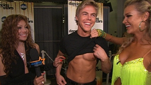 &#39;Dancing&#39; Recap: Derek Hough Goes Shirtless Video