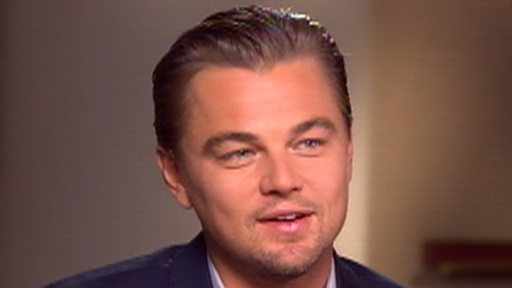 [Leonardo DiCaprio Talks 'Inception']