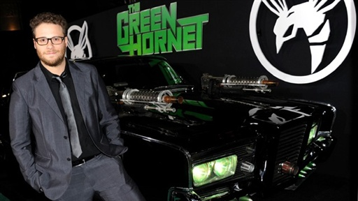 [Seth Rogen's 'The Green Hornet' Premiere, Los Angeles]