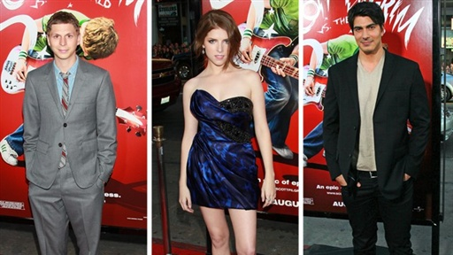 Scott Pilgrim Vs. The World Premiere, Los Angeles Video
