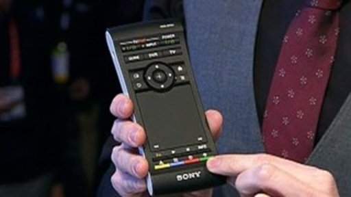 [CES 2012: Sony's NSZ-GS7 Media Player & Toshiba Excite X10 Table]