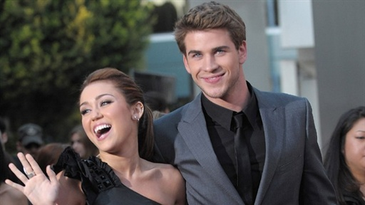 Miley Cyrus and Liam Hemsworth On Meeting the Parents and Miley' Video