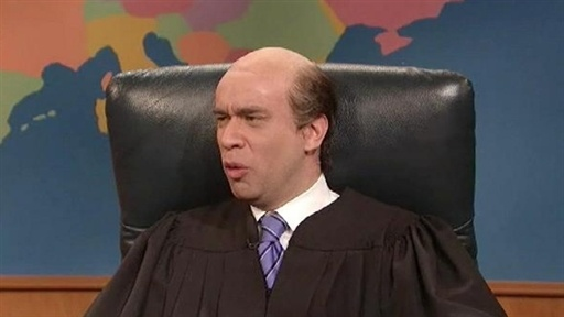[Weekend Update: Judge Seidlin]