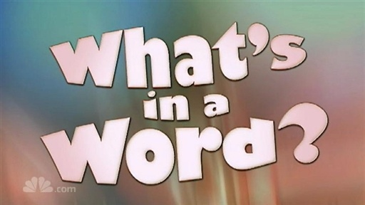 What`s in a Word Video