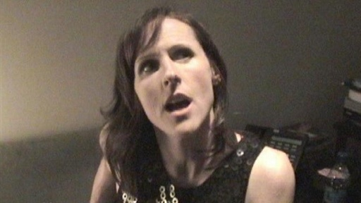 [Backstage with Molly Shannon]