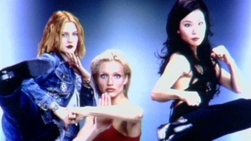 "Drew Barrymore on ""Charlie's Angels"" Video"