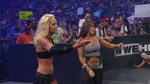Kelly Kelly Vs. Michelle McCool Video
