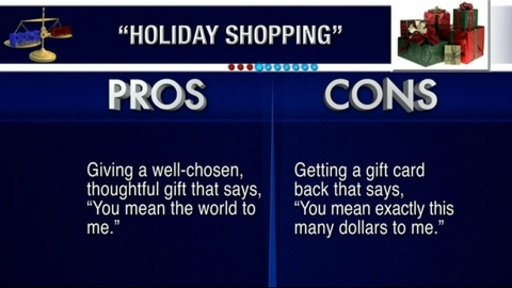 [Pros and Cons: Holiday Shopping]
