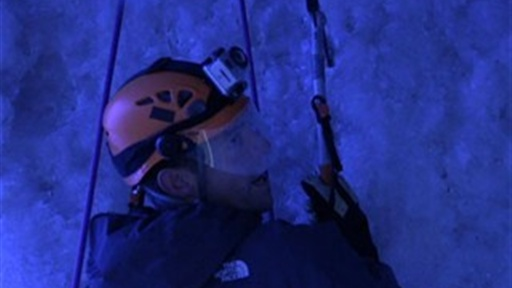 Blair Herter Goes Ice Climbing Video
