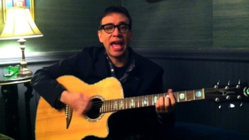 [Fred Armisen On Guitar Chords]