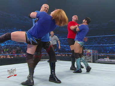 [WWE Tag Team Champions Big Show & Kane vs. Justin Gabriel & Heat]