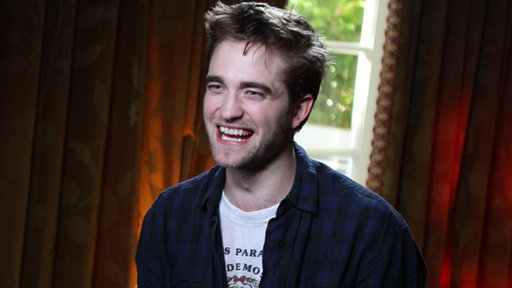 [Robert Pattinson On 'Breaking Dawn's' Saucy Original Love Scene]