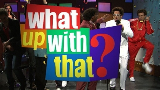 What Up With That: James Franco Video