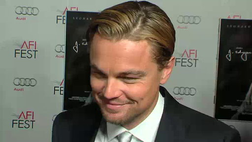 Leonardo DiCaprio's 'J. Edgar' Premiere Video