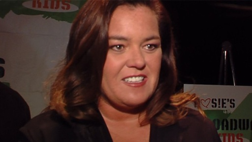 Rosie O'Donnell Is Giddy for 'Glee' Video