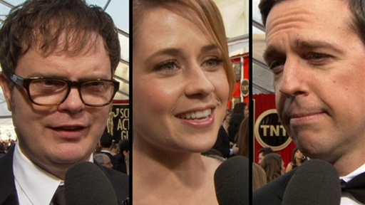 &#39;The Office&#39; Stars Can&#39;t Let Go of Steve Carell Video