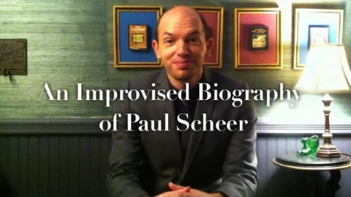 Improvised Biography: Paul Scheer Video