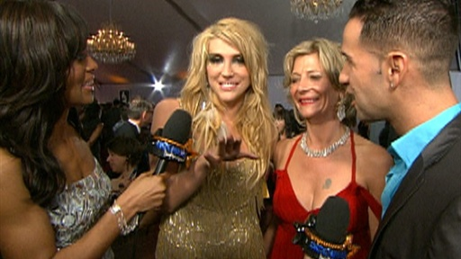 2010 Grammys Red Carpet: 'the Situation' Flirts With Ke$ha & Her Video