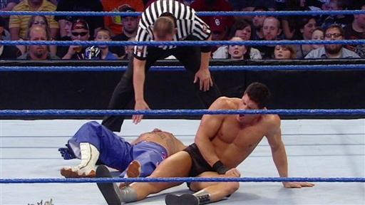 "Rey Mysterio Vs. ""Dashing"" Cody Rhodes: Team SmackDown WWE Bragg Video"