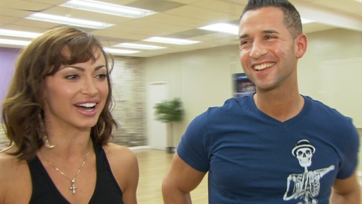 [Did Karina Smirnoff Storm Out On 'the Situation'?]