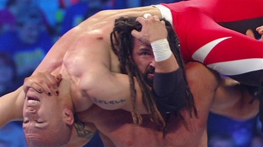 Kaval Vs. Tyler Reks: Team SmackDown WWE Bragging Rights Qualify Video
