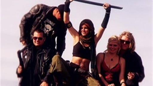 "[""Mad Max"" Madness at Wasteland Weekend 2010]"