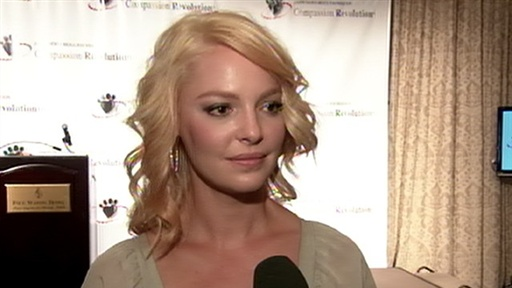 Katherine Heigl Helps Raise Money & Awareness for Pet Overpopula Video