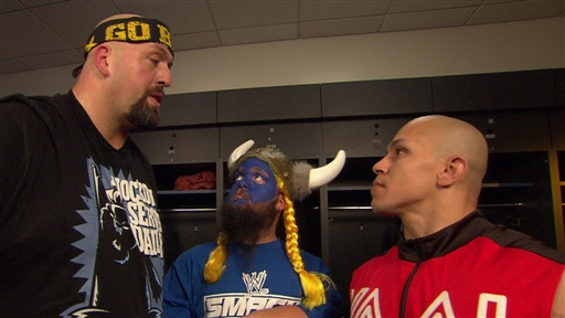 [Kaval Asks Big Show for a Spot On the WWE Bragging Rights Team]