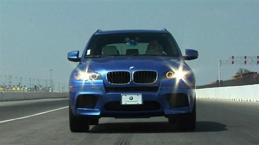 Bmw X5 M Sport 2010. 2010 BMW X5 M Track Test