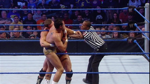[Chris Masters Vs. Alberto Del Rio: Team SmackDown WWE Bragging R]