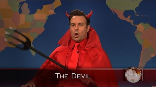 Weekend Update: The Devil On Penn State Video