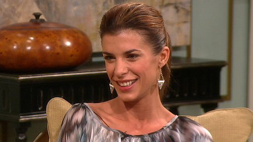 [Elisabetta Canalis On Her Eminem Tattoo & Looking for Work in Am]