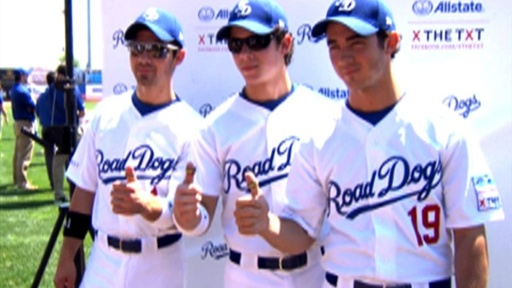 The Jonas Brothers Play Ball for a Good Cause Video