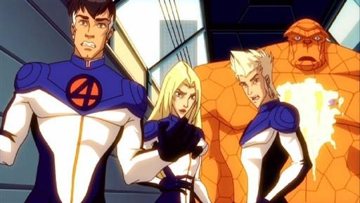 Fantastyczna Czwórka / Fantastic Four: Worlds Greatest Heroes (2006) 720p.WEB-DL.PL.H.264-zyl/ Dubbing PL *dla EXSite.pl*