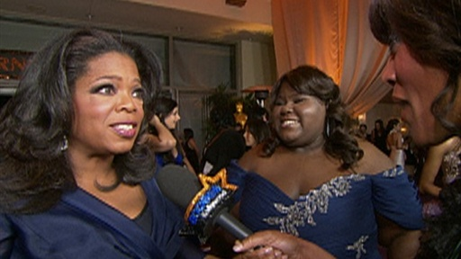 [2010 Oscars Governor's Ball: Oprah Winfrey Is Excited for Gabour]
