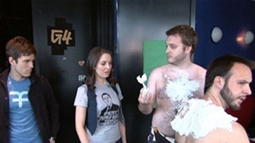 [Alison Brie's Behind the Scenes Tour of AOTS]