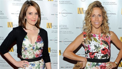 [Tina Fey's Fashion Face-off With Sheryl Crow]