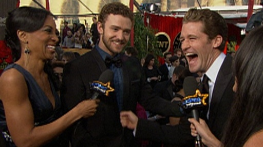 2010 SAG Awards: Do 'Glee's Matthew Morrison and Justin Timberla Video