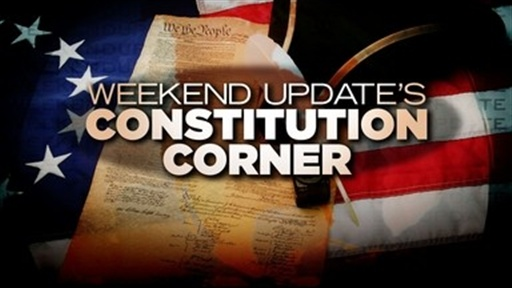 Update: Constitutional Corner Video