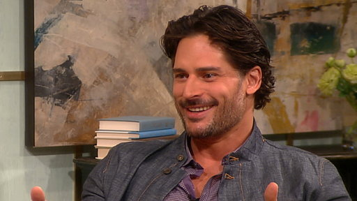 ['True Blood's' Joe Manganiello -- Do Werewolves Wear Underwear?]