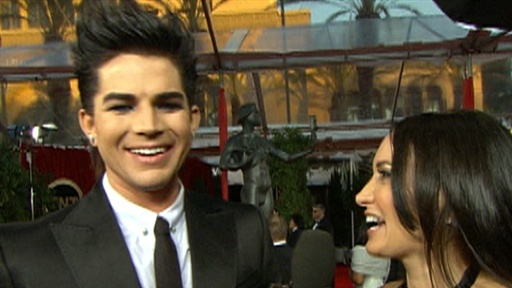 [2010 SAG Awards: Adam Lambert On the 'Powerful' Oprah & Going In]