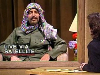 Jon Lovitz As Yasser Arafat Video