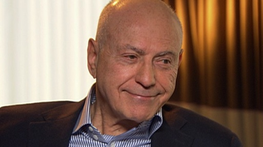 Alan Arkin: It Was 'Embarrassing' and 'Exciting' to Kiss Blake L Video