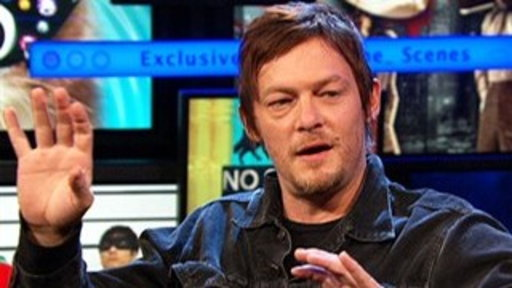 "[Norman Reedus Talks ""The Walking Dead"" and Riding]"